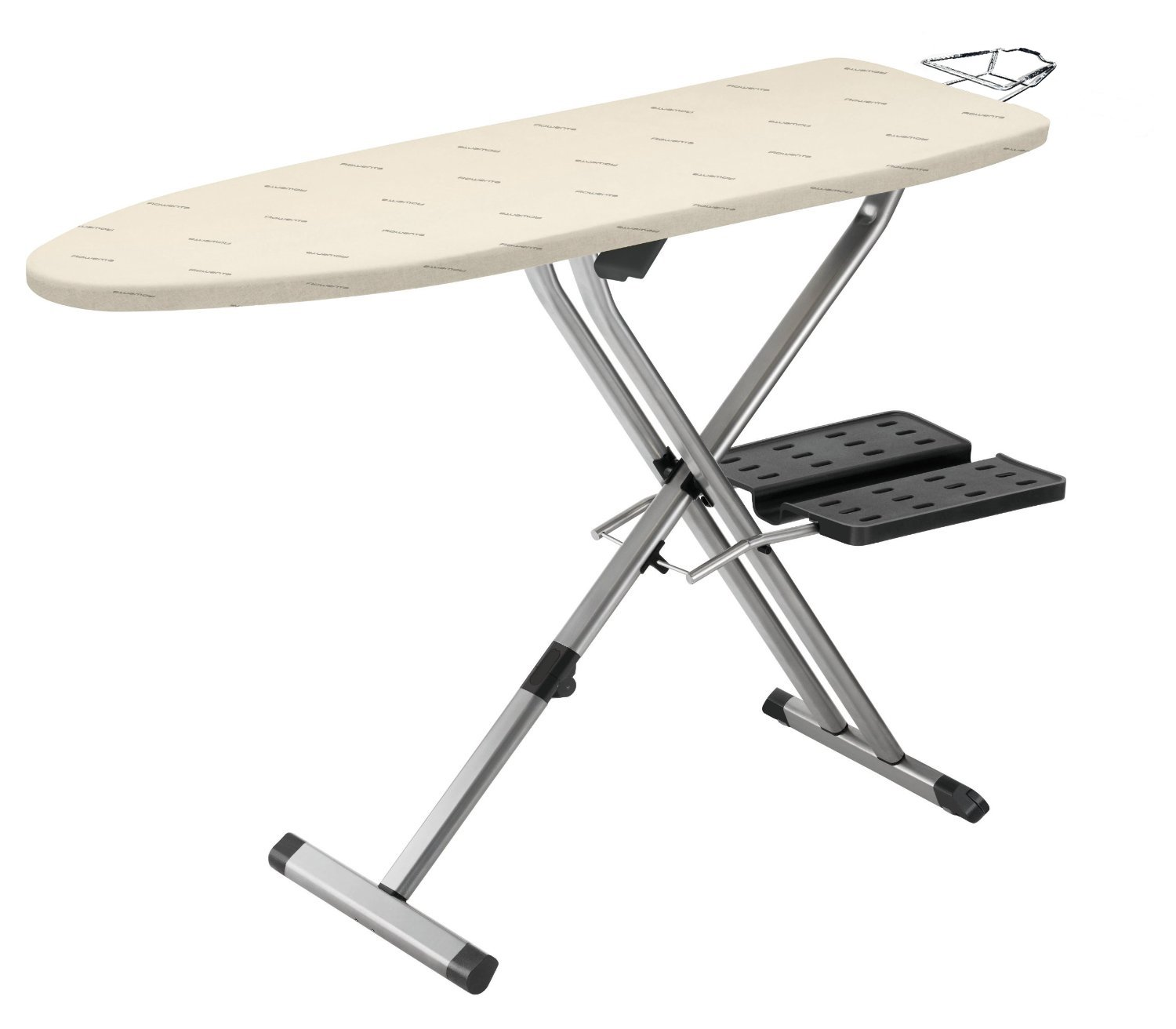 Rowenta IB9100 Pro Compact Professional Folding Ironing Board with Hanger Racks, 18-Inch by 54-Inch, Beige Groupe SEB 1110030481