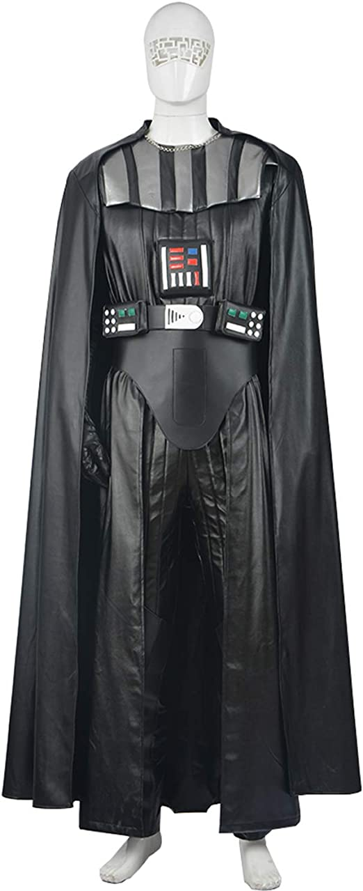 QWEASZER Star Wars The Black Darth Vader Cosplay Disfraz Adulto ...