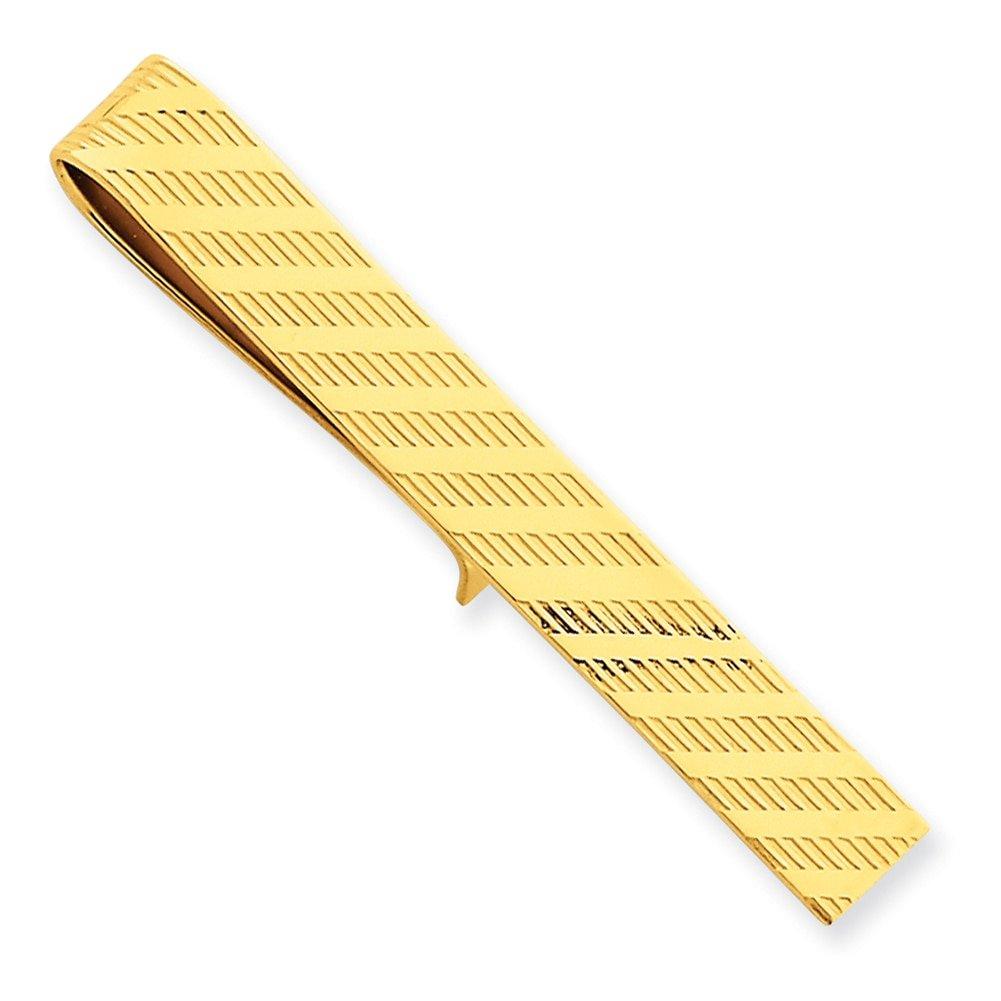 Lex /& Lu 14k Yellow Gold Tie Bar LAL79227