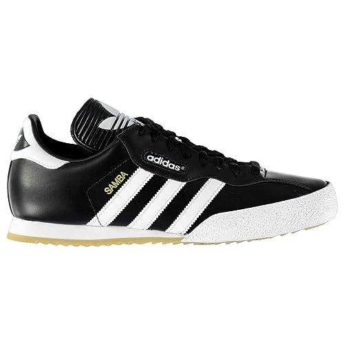 best service 58f61 caa82 Adidas Originals para Hombre Súper Samba Entrenadores Negro 019099,  Size 46  Amazon.es  Zapatos y complementos