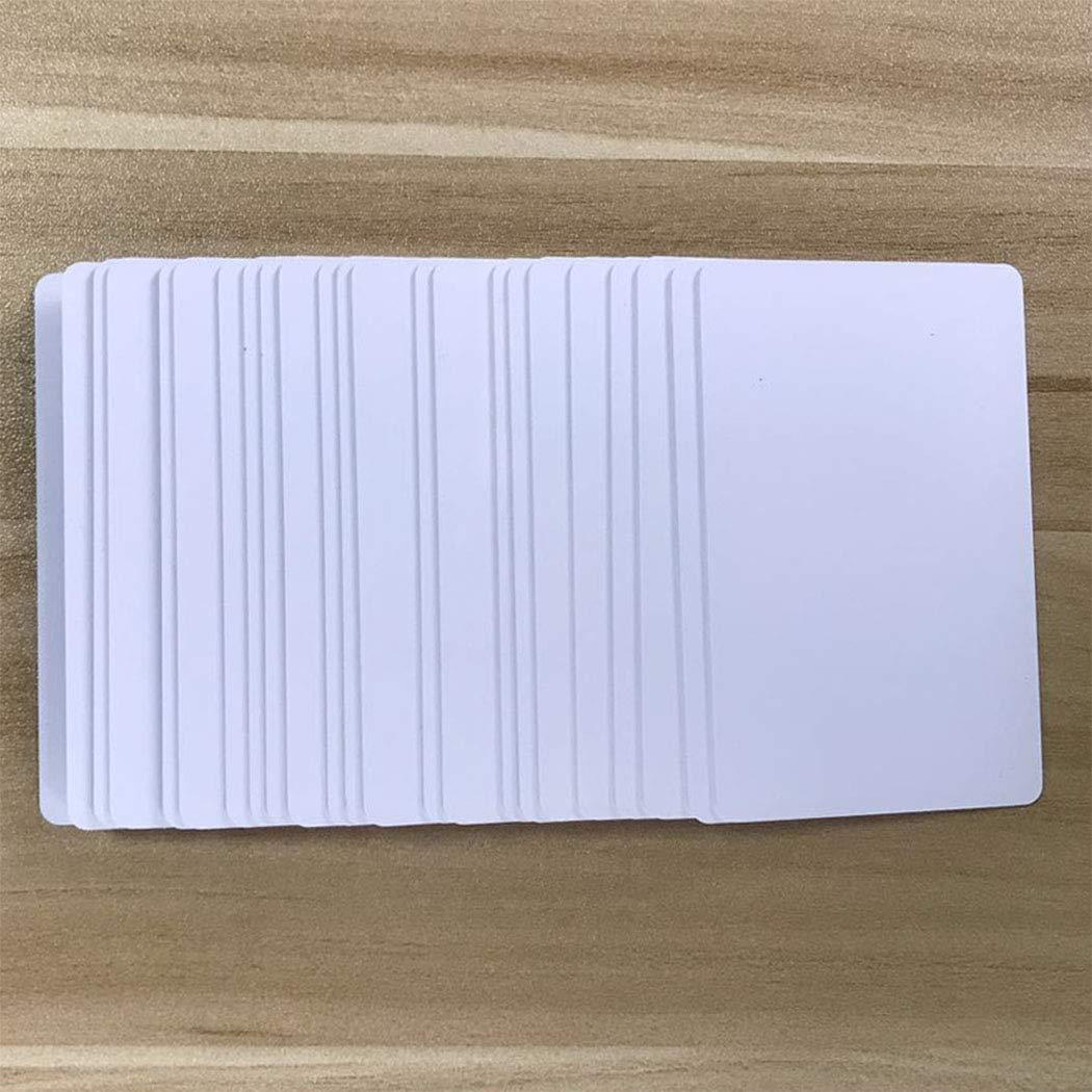 All NFC-Enabled Smartphones and Devices 30 Pieces Blank Unprintable NTAG215 NFC Cards PVC Tags Compatible with TagMo and Amiibo