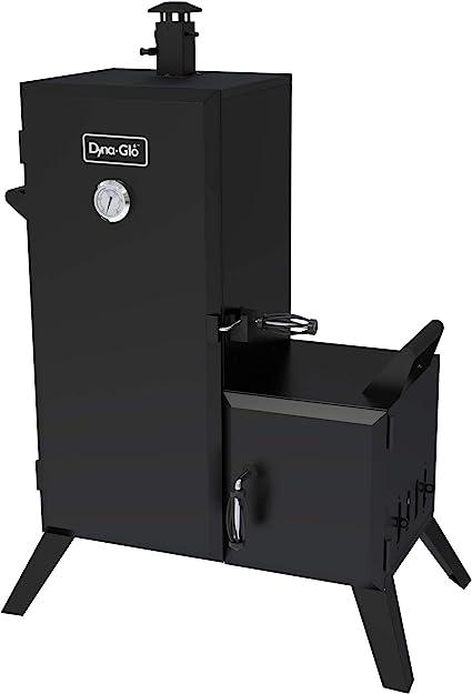 Dyna Glo Dgo1176bdc D Vertical Offset Charcoal Smoker Outdoor Smokers Garden Outdoor