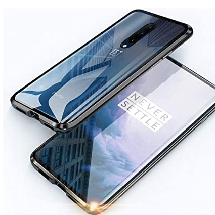 Amazon.com: Case for OnePlus 7 Pro Cover Magnetic Adsorption ...