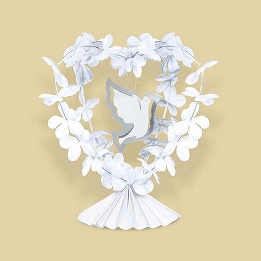 amscan - Decoración para Centro de Mesa en Bodas con Paloma Blanca ...