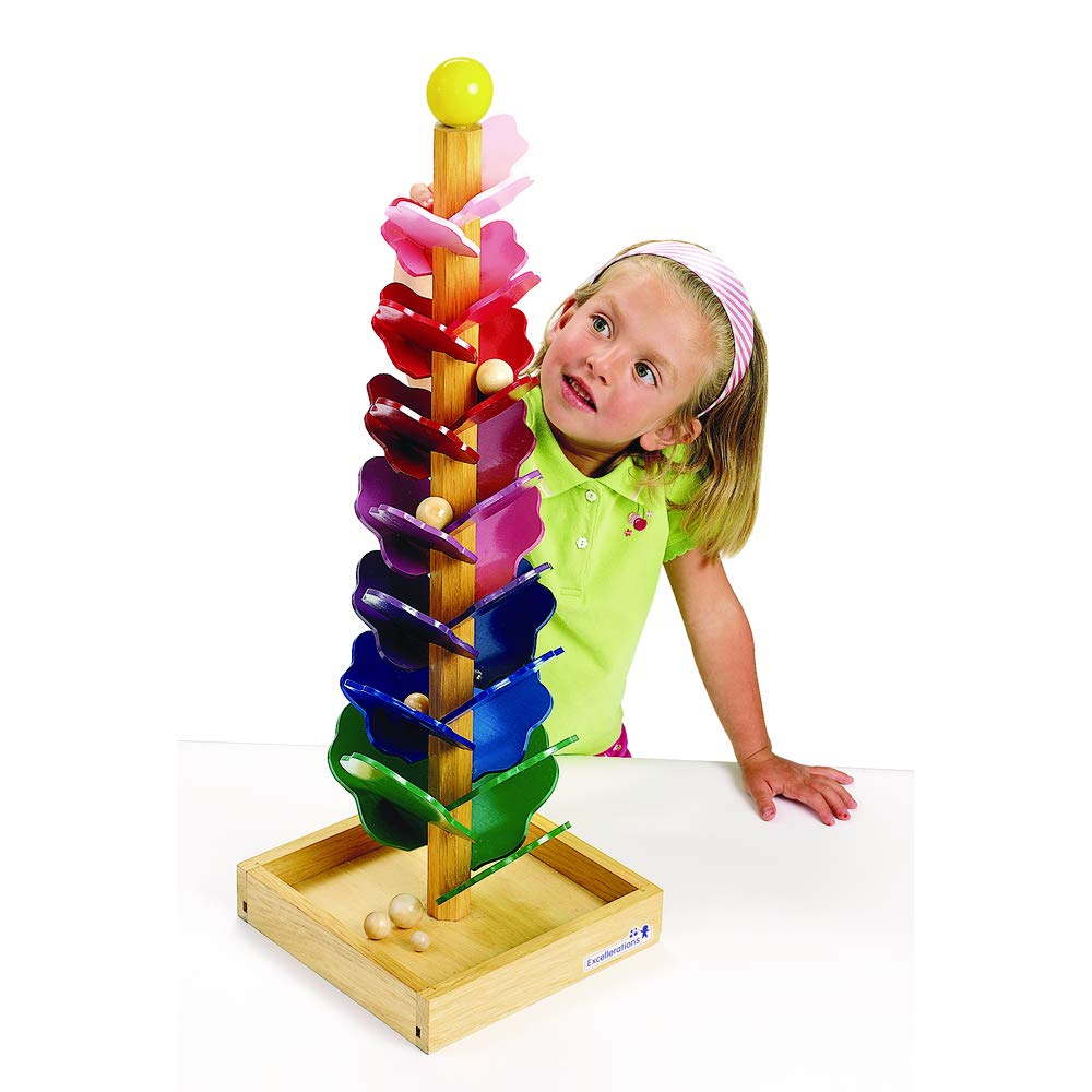 Excellerations Singing Tree Marble Run, 28 inches, Interactive Learning Toy for Kids Classroom Toy, Educational Toy, Kids Toys