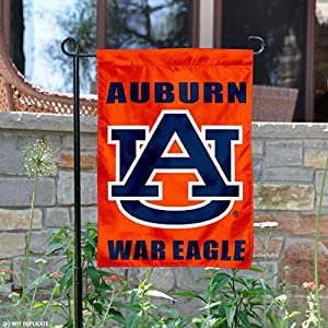 Delightful Auburn Tigers War Eagle Garden Flag