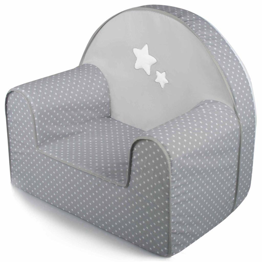 Baninni Kindersessel Grau Kindersofa Kindercouch Kinder Sessel Kindermö bel