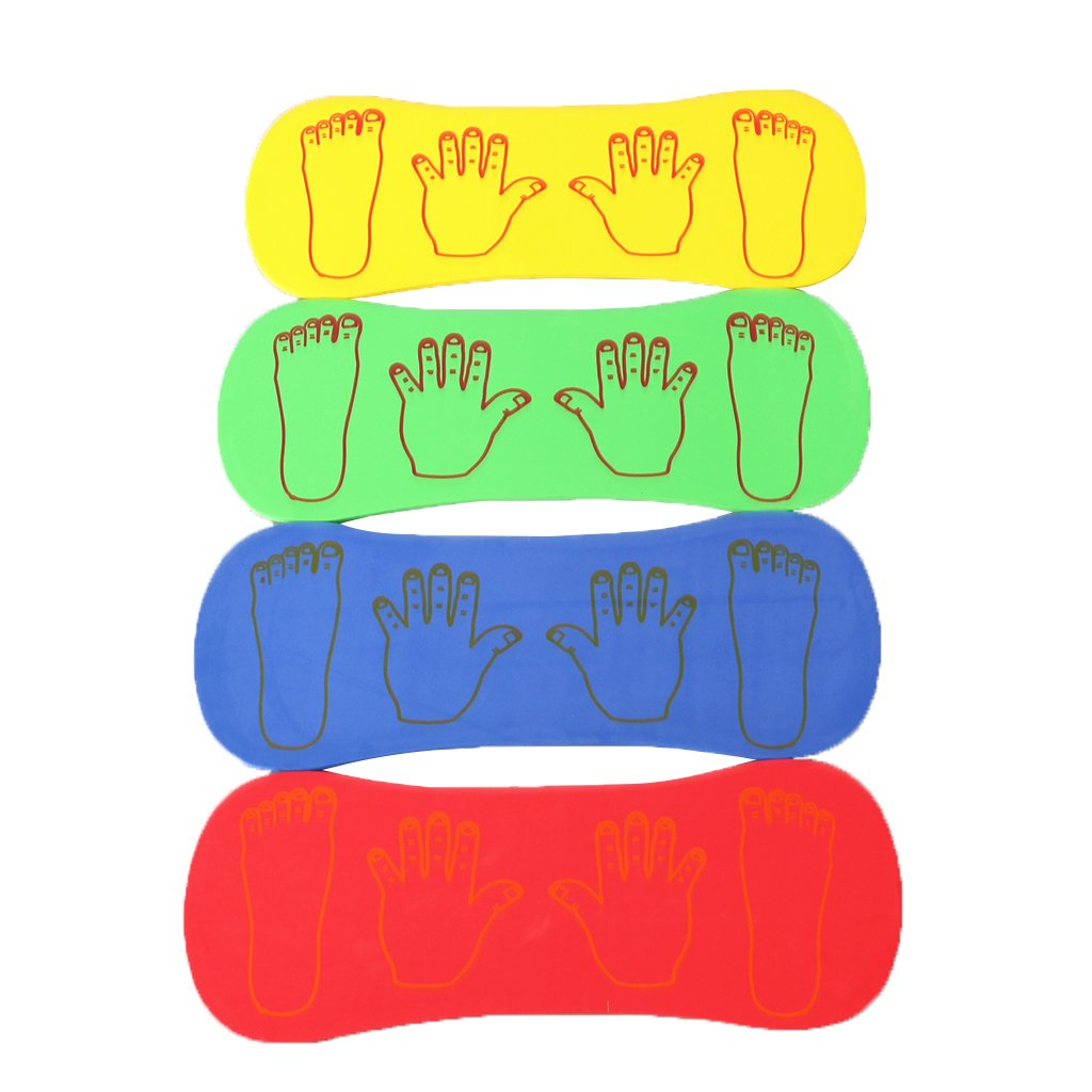 Jili Online 4 Pieces Outdoor Indoor Sports Toys Children's Hand and Foot Foam Board Games Educational Toys