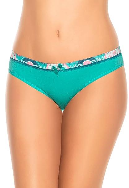 Laura Bikini de Algodón Ropa Interior Colombiana de Mujer 102142AQ L