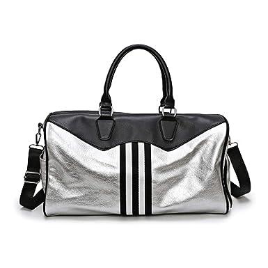 Amazon.com: Bolsa de gimnasio sac de deporte bolsas de cuero ...