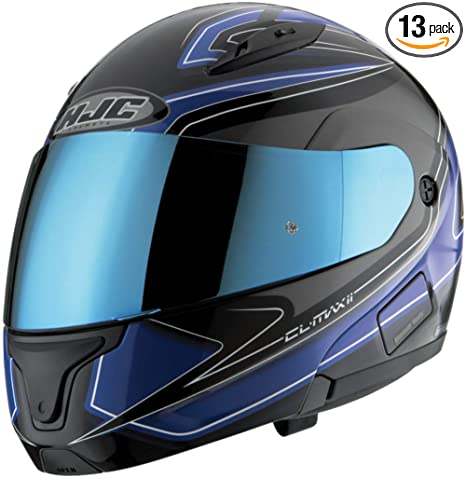 c988fe93 Amazon.com: HJC RST Shield for HJ-09, AC-12, AC-12 Carbon, CL-15 and CL-SP  Helmet RST Blue Mirror Shield: Automotive