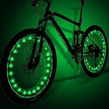 My-My LED Luces de Rueda de Bicicleta para niños, Luces de Rueda ...