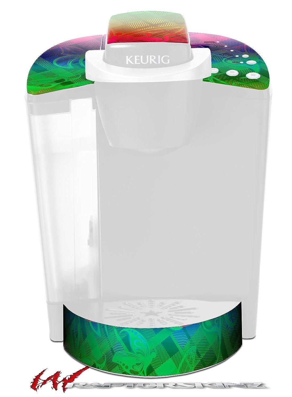 Rainbow Butterflies – デカールスタイルビニールスキンFits Keurig k40 Eliteコーヒーメーカー( Keurig Not Included )   B017AK9GSY
