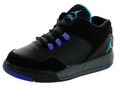 fc48cc3f37245 Amazon.com: Nike Jordan Toddlers Jordan Flight Origin 2 Bt Blk/Bl ...