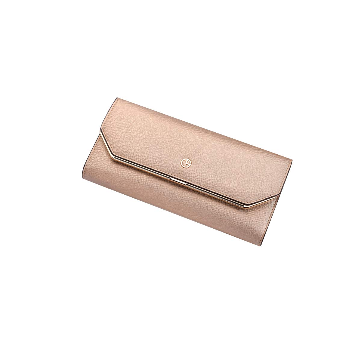 gold Muziwenju Leather Wallet, Clutch, Big Travel Wallet Handbag, Ladies Box Gift Latest Style, Practical