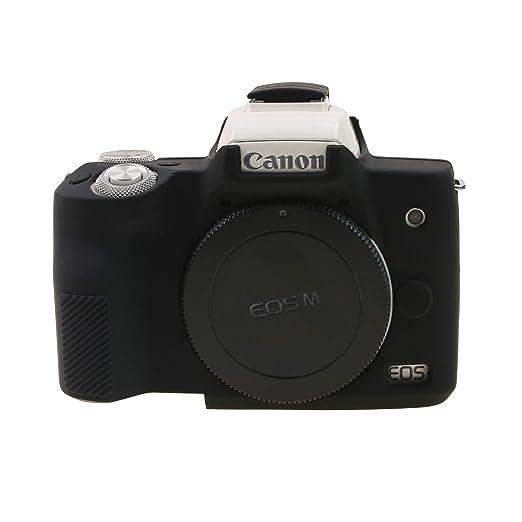 Amazon.com: EOS M50 - Funda de silicona para cámara ...