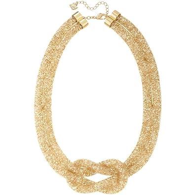0b70d1da0cd9 Amazon.com  Swarovski Stardust Knot Necklace  Jewelry