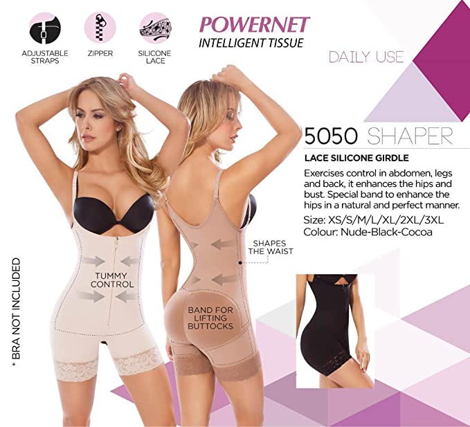 3e11d5cacf400 MOLDEATE 5050 Low Back Body Shaper at Amazon Women s Clothing store