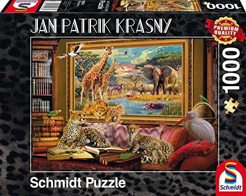Die Savanne, Zum Leben erwacht - (Savannah Cardboard Jigsaw)