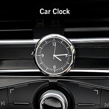 Vvciic Mini Uhr Zum Aufkleben Im Auto Zubehör Glow Watch