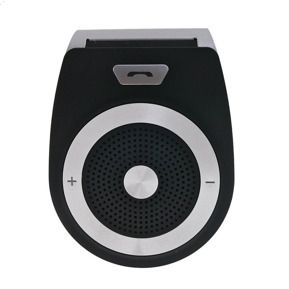 blsak auto vivavoce –  portatile wireless Multipoint Vivavoce Bluetooth 4.1 visiera parasole auto vivavoce A2DP streaming auto Kit per iPhone 6/5, Samsung Galaxy S5/S4/Note 4/3/2, smartphone POR6