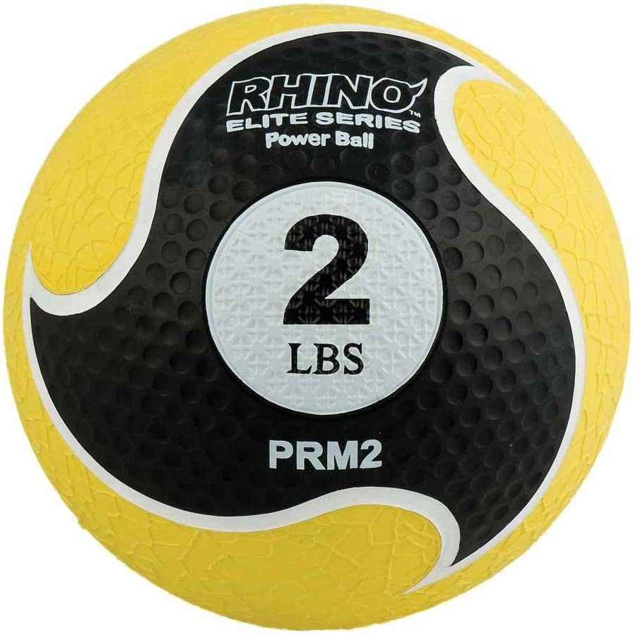 Champion Sports Rhino Elite Medicine Ball – In Multiple Weights
