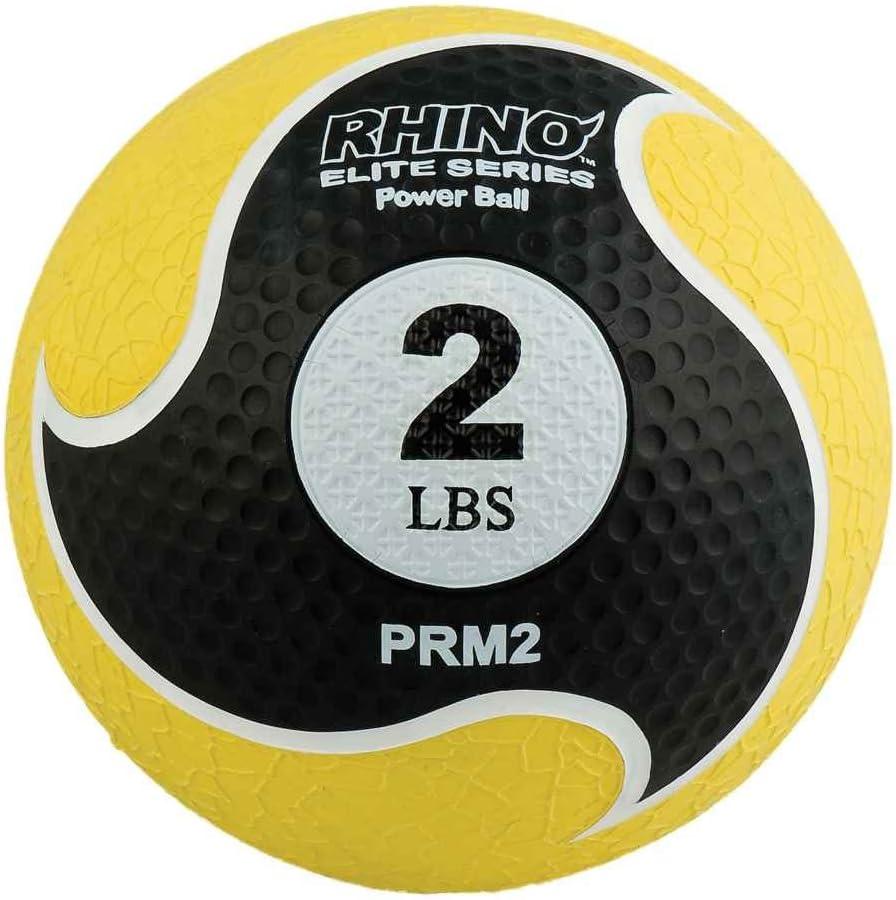 Champion Sports Rhino Elite Medicine Ball (2 pounds), Yellow : Sports & Outdoors