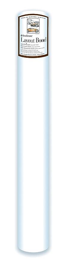 Strathmore 401-43 400 Series Drawing Roll, 100 lb. Medium Surface 42 x10 Yards
