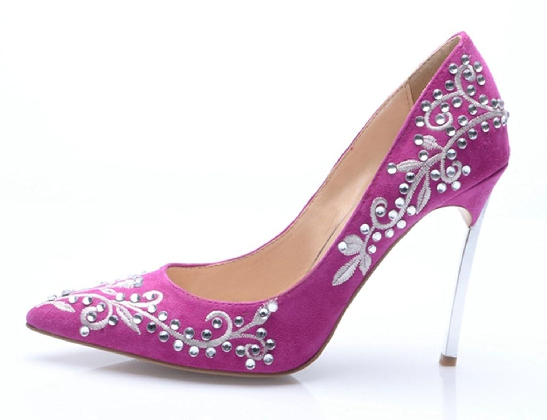 TDA - Sandali con Zeppa donna , viola (Purple), 40: Amazon.it: Scarpe e  borse