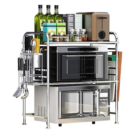 Bjia Rejilla de horno de microondas de cocina de acero ...