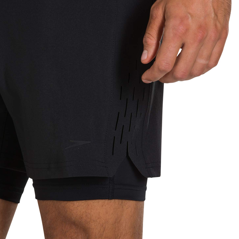 Speedo Mens Reflectwave Flex 2-in-1 Water Shorts