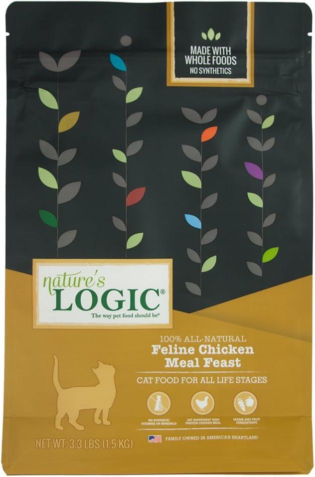Nature'S Logic Cat Food Feline Meal Feast Chicken