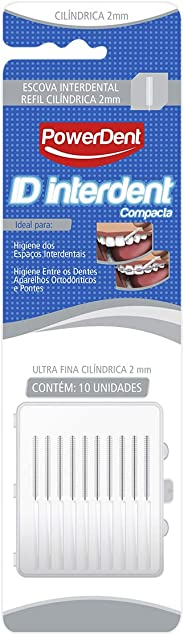 Escova Interdental Ultra Fina, Power Dent, Power Dent