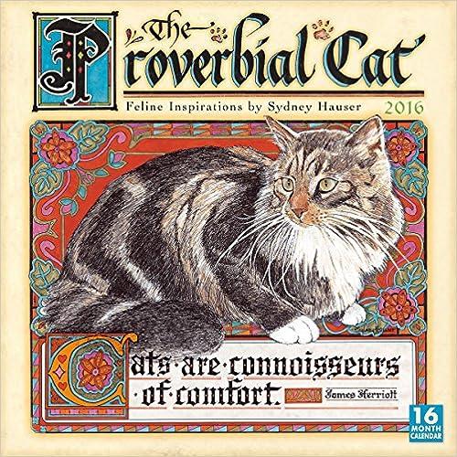Ebook-Suche kostenlos herunterladen Proverbial Cat 2016 Wall Calendar FB2