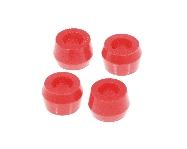 2 Piece Prothane 19-918 Red Hourglass Shock Mount Bushing