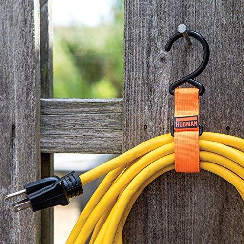 Hudman Works Strap & Hook XL, Bright Orange, 50'' by Hudman Works (Image #4)