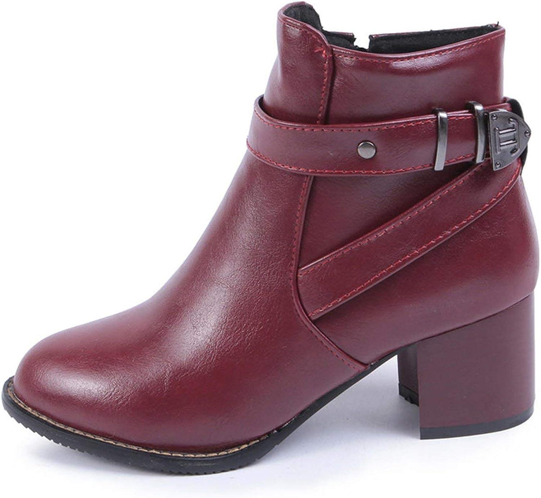 Boots Women Shoes add Fur Winter Warm Booties Woman Shoes Boot,Beige wih Fur,4