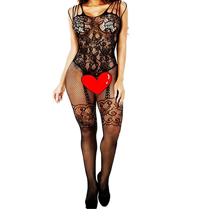 Amazon.com: Daisland Women Lingerie Sleepwear Bodystocking Bodysuit Babydoll Chemise Teddy: Clothing
