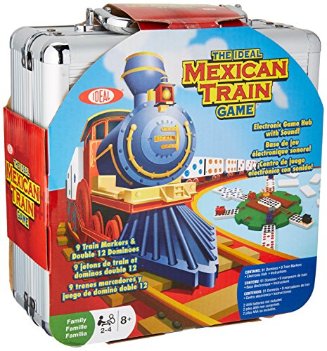 Ideal ALXOX5454 Mexican Train Game in Carrying Case, Multicolor