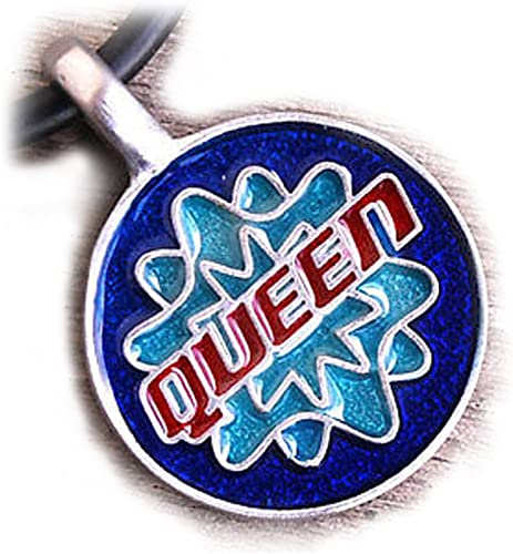 "Gay /& Lesbian LGBT Jewelry /""Queen/"" Gay Pride Pendant Necklace Pride Shack"