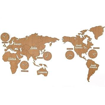 Large World Map Amazon.Amazon Com Pqpqpq Wall Clock Civilweaeu 300x156cm Diy Large