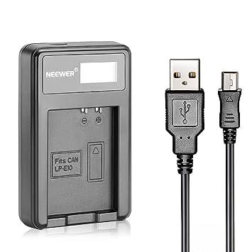 Amazon.com: Neewer – Cargador de batería USB para Batería ...