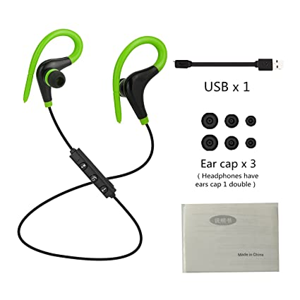 2017 Hot Wireless Bluetooth 4.1 Earphone Sport With Microphone Auriculares Ear Hook Stereo Headphones Headset For