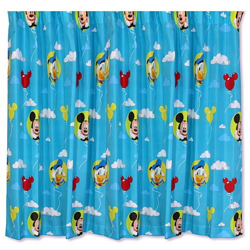 Disney, Mickey Mouse U0027Puzzledu0027 72 Inch Drop, Childrens Bedroom Curtains:  Amazon.co.uk: Kitchen U0026 Home