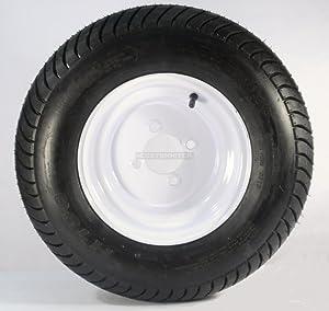 American Tire 3H330 205/65-10 Tire & Wheel (B) 4 Hole / White