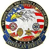 Eagle Emblem American Heroes Medium Patch