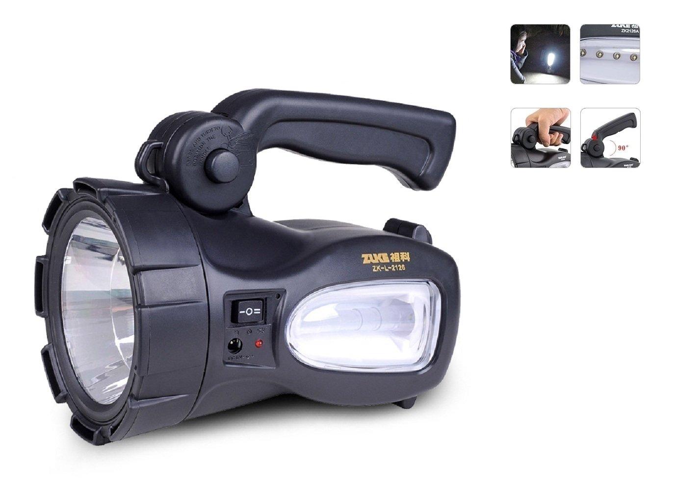 neuesten tragbaren Hochleistungs-Super Hell T6CREE XML LED Jungen- Searchlight Schalthebel Schein Taschenlampe Scheinwerfer Fernbedienung lang Shot Outdoor Groß wiederaufladbar Suche Leuchten Stimmer Taschenlampe Strahler Lampe Birne für die Jagd Angeln C