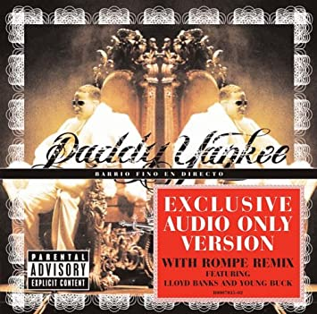 Barrio Fino en Directo Audio Version Only Explicit Lyrics