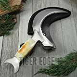 New 10″ Boline Moon Crest Ritual Sickle Curved Blade Wiccan Pagan Review