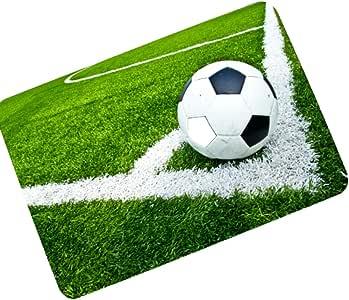 Balón de fútbol Alfombra de área, Resbalón Anti Goma Tapete ...